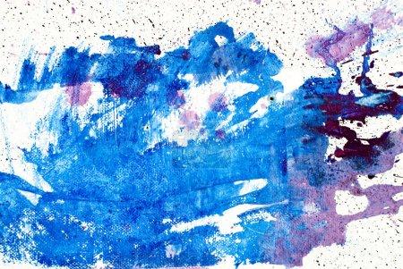Photo pour Tache de couleur, aquarelle abstraite peint à la main fond - image libre de droit