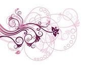 Floral design elem