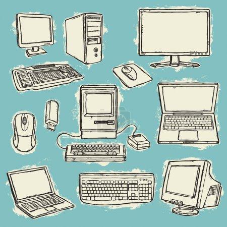 Set of computers
