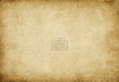 Photo for Weathered grungy parchment background - Royalty Free Image
