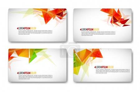 Photo pour Ensemble de carte d'affaires moderne | Eps10 compatibilité nécessaire - image libre de droit