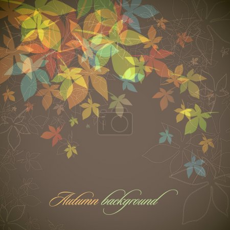 Autumn Background | Falling Leaves