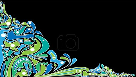 Photo for Psychedelic background. Vector - Royalty Free Image