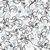 Light gray vector seamless damask pattern