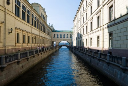 Canal of Saint Petersburg. Russia