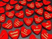 Odznaky na způsob srdce