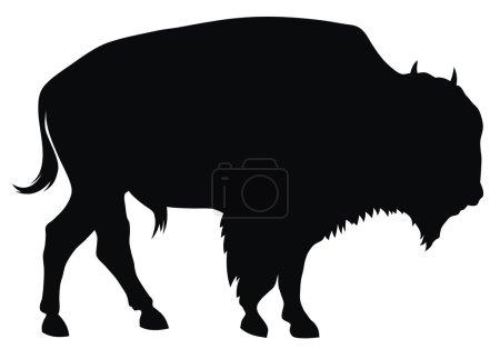 Illustration pour Illustration vectorielle abstraite du buffle - image libre de droit
