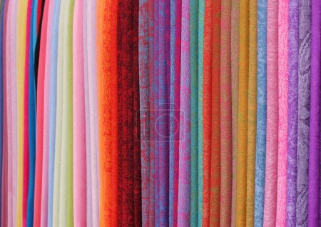 Coloured fabrics