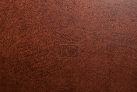 Photo for Background texture of a brown grainy leather - Royalty Free Image