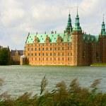 A view of Frederiksborg castle in Hellerod, Denmar...