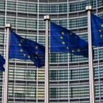 European Flags in Brussels...