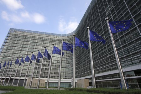 Photo for European Commission headquarters in Brussels - Royalty Free Image