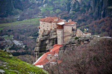 The Meteora monastery