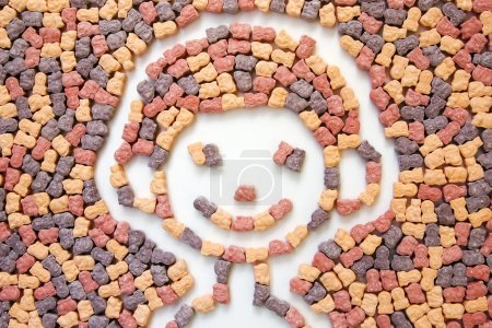 Foto de Foto de vitaminas para niños de un modo gráfico 2 - Imagen libre de derechos