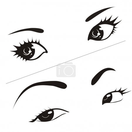 Woman's eyes