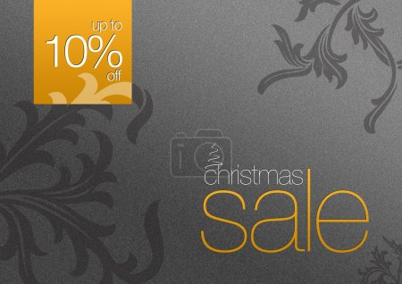 Christmas Sale Card 10% off