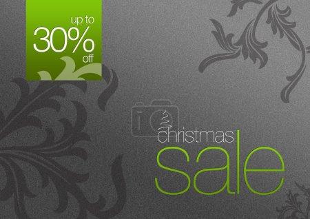 Christmas Sale Card 30% off