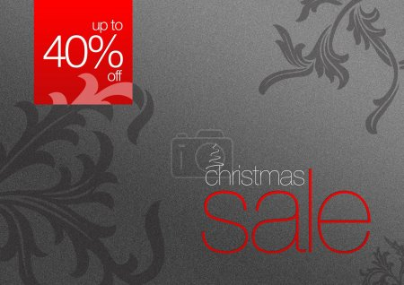Christmas Sale Card 40% off