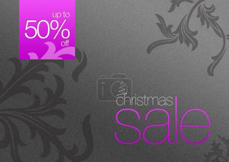 Christmas Sale Card 50% off