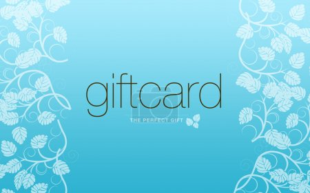 Ligh Blue Gift Card