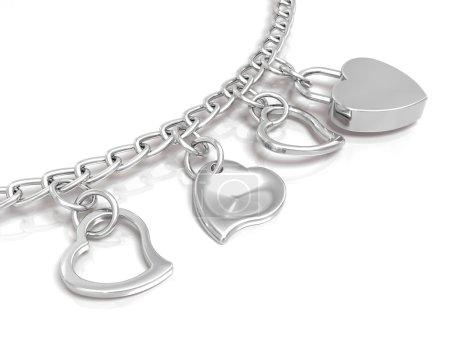 Bracelet of hearts