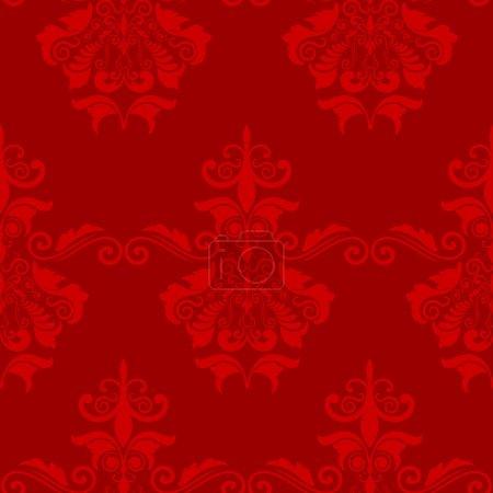 Photo pour Arrière-plan de papier peint décoratif de tuile sans couture - image libre de droit