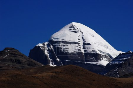 Photo for Landscape of the famous holy Mount Kailash in Tibet - Royalty Free Image