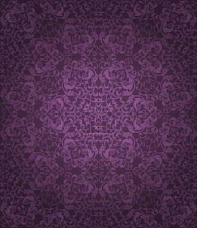 Illustration for Seamless floral pattern. Vector illustration. - Royalty Free Image