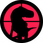 Raptor in the crosshair of a gun's telescope. Can ...