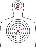 The target for shooting