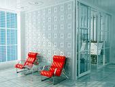 Interior of office