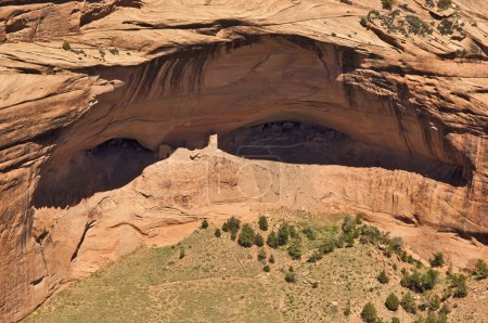 Mummy Cave at Canyon De Chelly Arizona