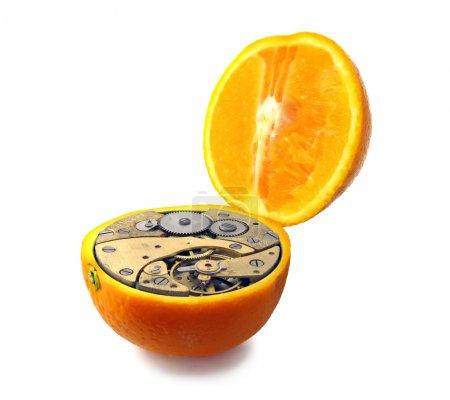 Mechanical orange