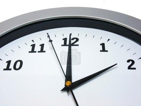 2 o'clock on wall clock
