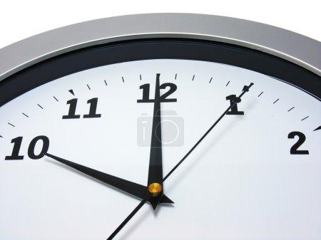 10 o'clock on wall clock