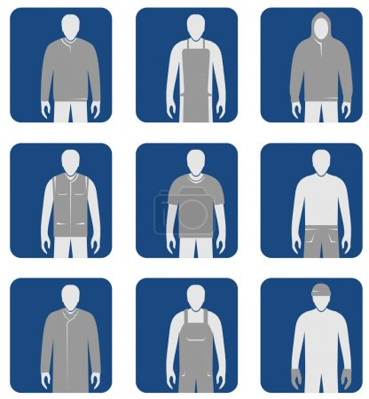 Workers' clothes