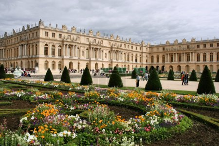 Versailles - beautiful French chateau and gardens