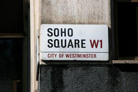 Soho in London
