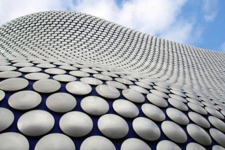 Birmingham - famous Selfridges building dotted fac...