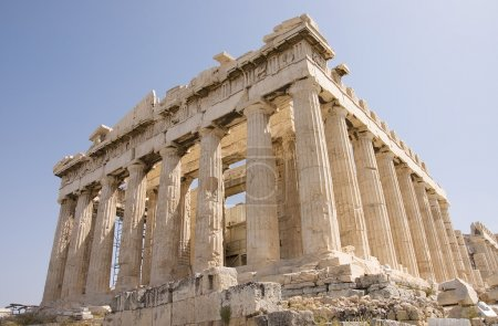 Photo for The famous Parthenon monument, north-west view, Athens, Greece - Royalty Free Image