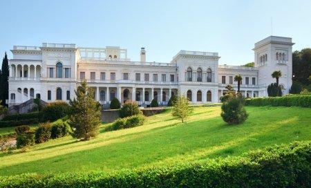 Livadia Palace in Livadiya, Crimea, Ukraine.