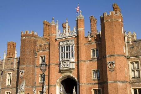 Entrance to Hampton Court Palace