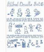 10 new cool hip-hoppedy and funny doodles featuring Alfred Doodle and a c