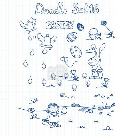 Doodle Set 16: Easter