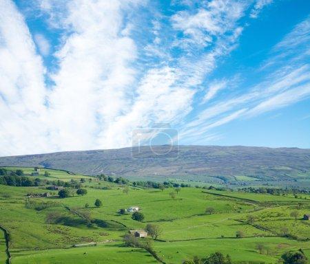 "Yorkshire, UK, border of national park ""Yorkshire dales"