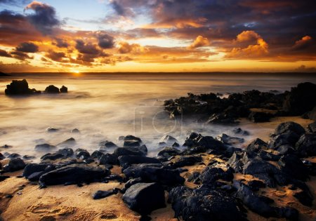 Photo for Beautiful Sunset on Phillip Island, Australia - Royalty Free Image