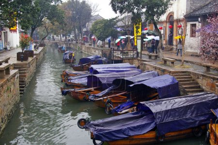 It is one of the six water village in China.