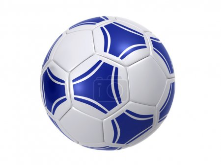 Photo for Soccer ball isolated on a white background (3d render) - Royalty Free Image