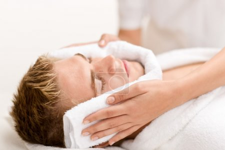 Male cosmetics - luxury spa treatment
