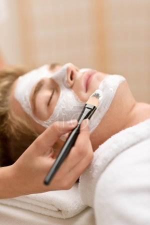 Male cosmetics - facial mask